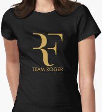 roger federer Womens Fitted T-Shirt