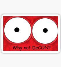 Why not DeCON? Sticker