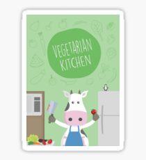 Vegetarian Kitchen Sticker