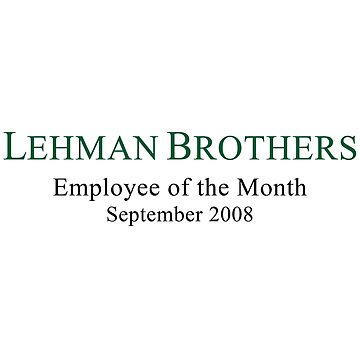 Lehman Brothers Political Humor by TheLoonMoon