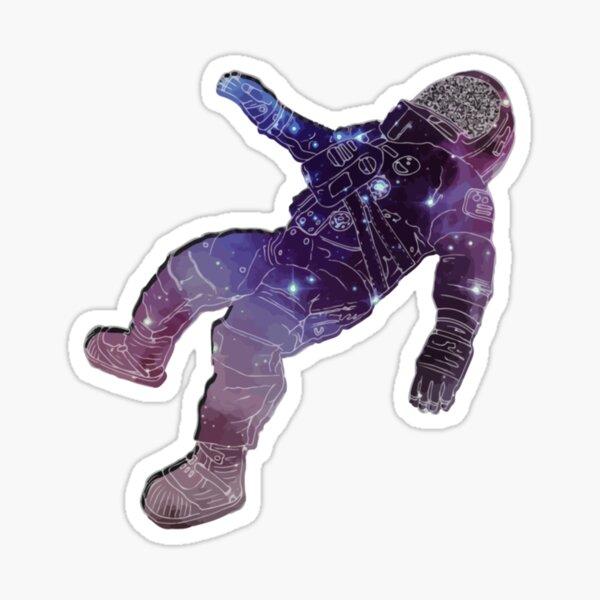 The Blue Stones Band Astronaut  Black Holes Album Sticker
