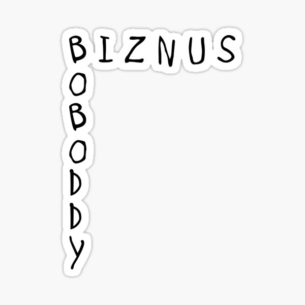 BOBODDY - The Office Sticker
