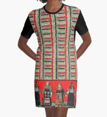 Three Ladies Graphic T-Shirt Dress