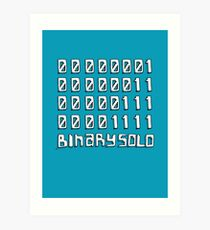 The Flight of the Conchords - Binary Solo - Robots Art Print