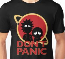 Rick and Morty don't Panic Unisex T-Shirt