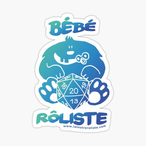 Bébé Rôliste BLEU/VERT Sticker
