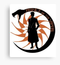 Prince of the Vipers Canvas Print