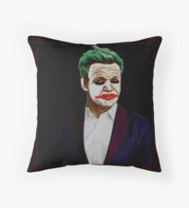 The Grilling Joke Throw Pillow