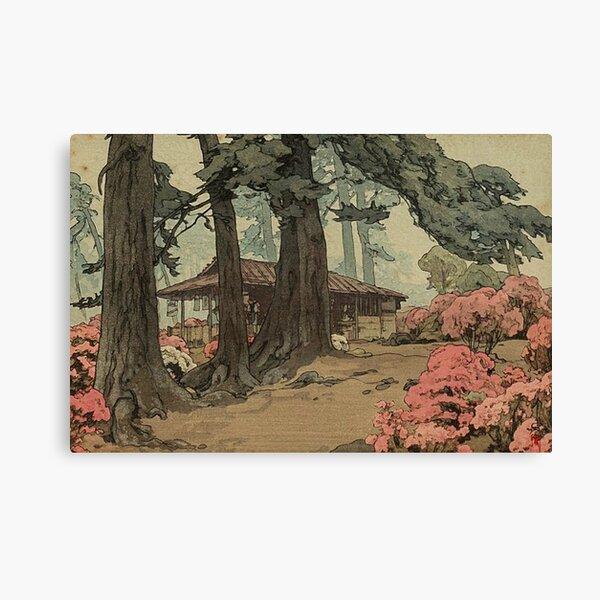 Tea House - Yoshida Hiroshi Canvas Print