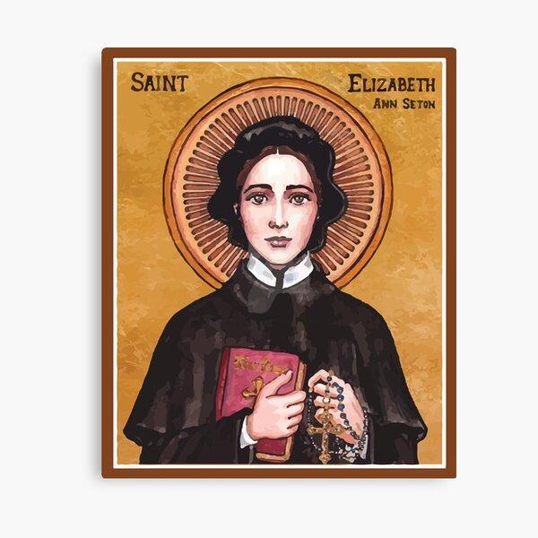 St Elizabeth Ann Seton | Sister Of Charity Canvas Print