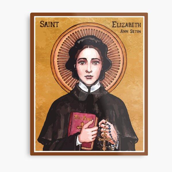 St Elizabeth Ann Seton | Sister Of Charity Metal Print
