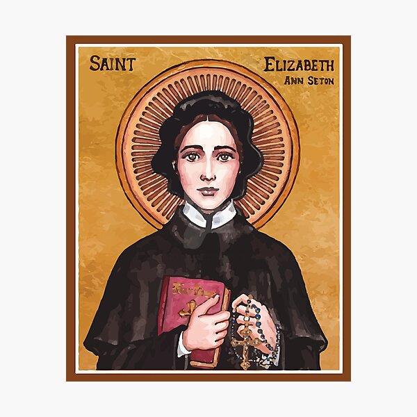 St Elizabeth Ann Seton   Sister Of Charity Photographic Print