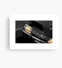 Poster artwork - Peugeot 504 saloon. Canvas Print