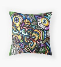 161211 Secure In My Own Detached Reality Throw Pillow