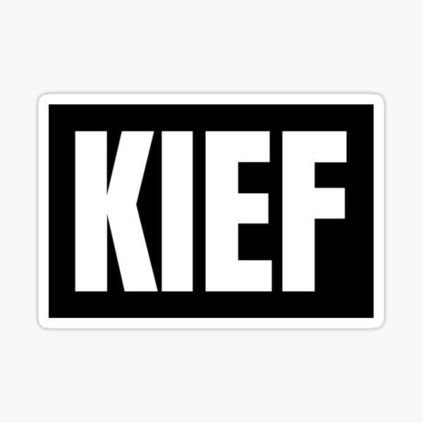 Kief Sticker