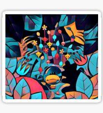 Pikmin Neon Jungle Sticker