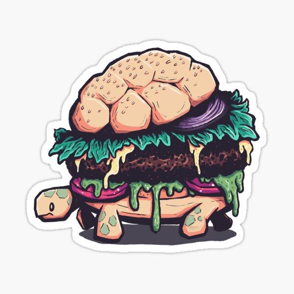 Slow Food Turtle Sticker