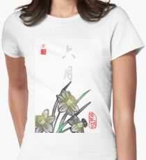 Inked Petals of a Year June Women's Fitted T-Shirt