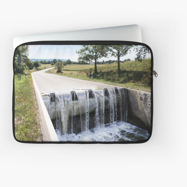River Road Conceptual Photography Laptop Sleeve