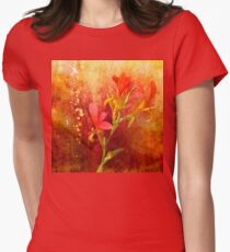 Gilded Scarlet Womens Fitted T-Shirt