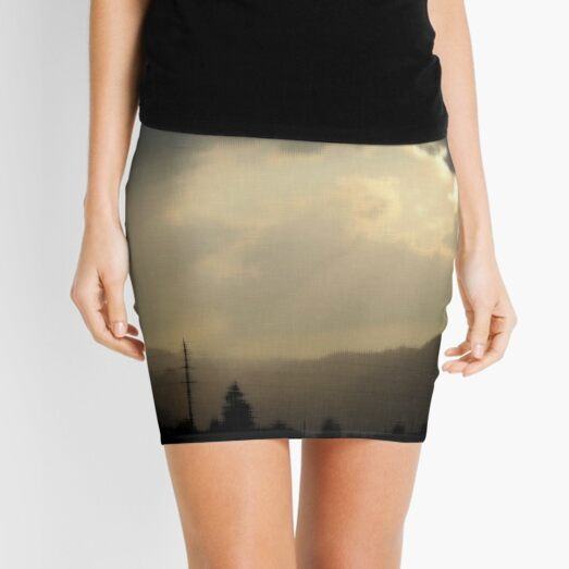 Light in the darkness Mini Skirt