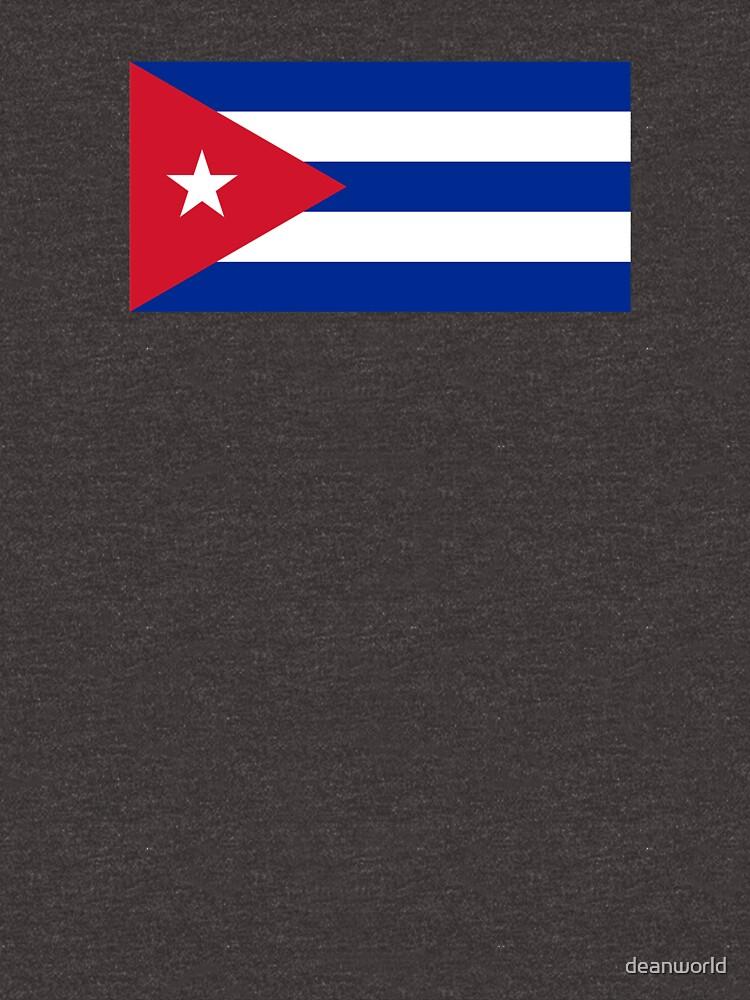 Cuba Flag - Cuban National Flag T-Shirt Sticker by deanworld