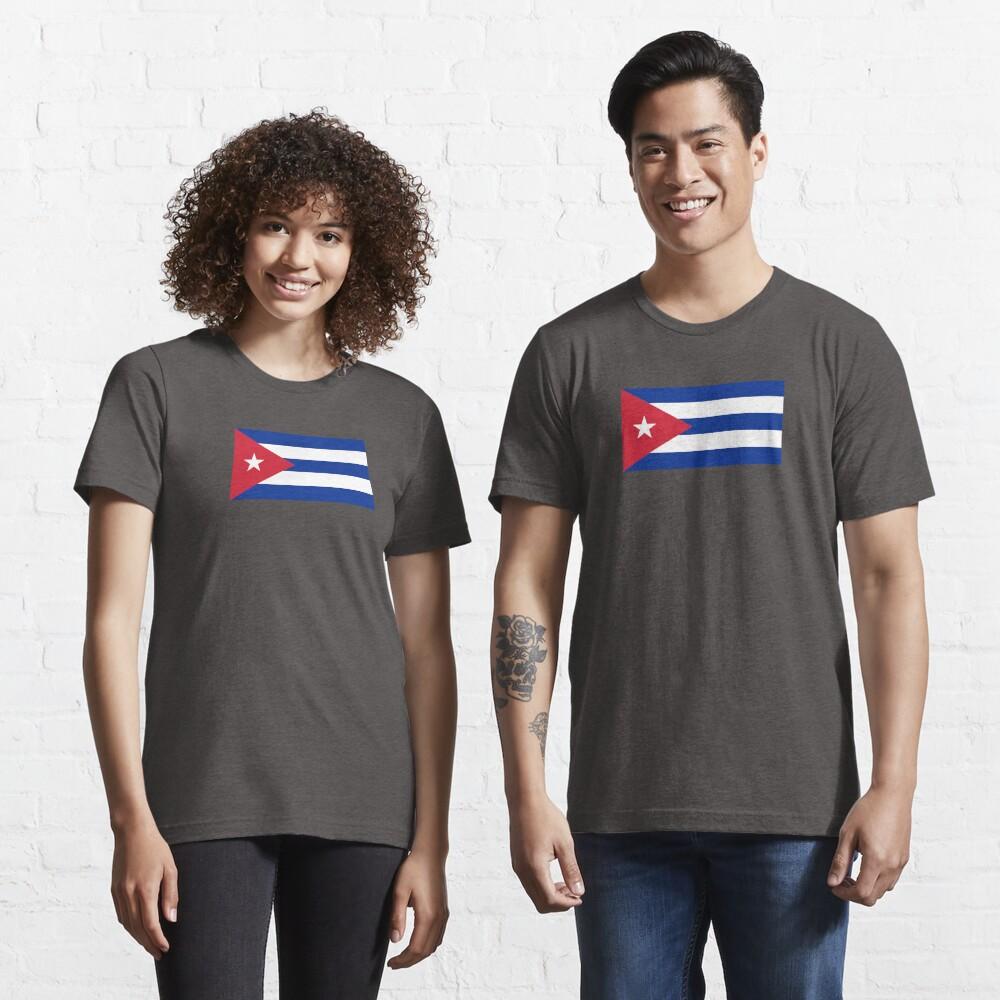 Cuba Flag - Cuban National Flag T-Shirt Sticker Essential T-Shirt