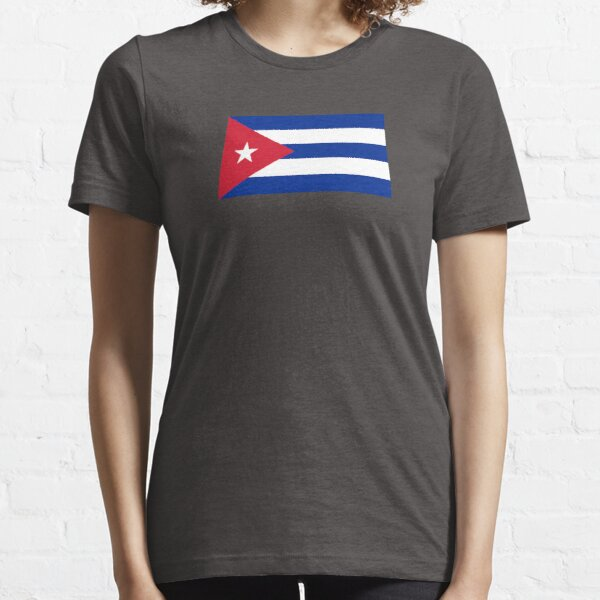 Cuba Flag - Cuban National Flag T-Shirt Sticker Essential T-Shirt