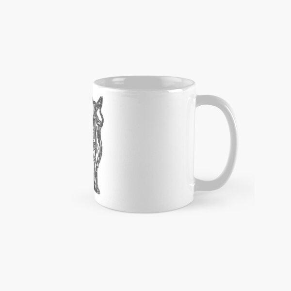 Charcoal Biofilm Cat Classic Mug
