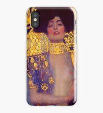 Judith by Gustav Klimt iPhone Case/Skin