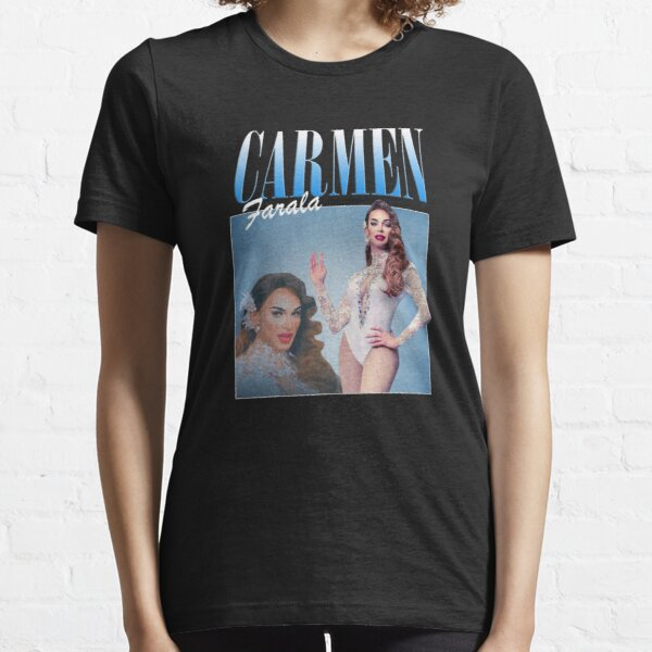 Carmen Farala Vintage Retro 90s Essential T-Shirt