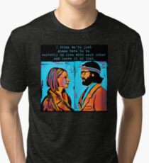 The Royal Tenenbaums Margot and Ritchie Tri-blend T-Shirt