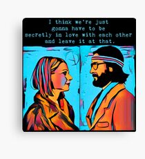 The Royal Tenenbaums Margot and Ritchie Canvas Print