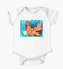 Fancy Rooster Art 2 One Piece - Short Sleeve