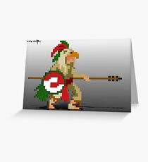 Eagle Knight Greeting Card