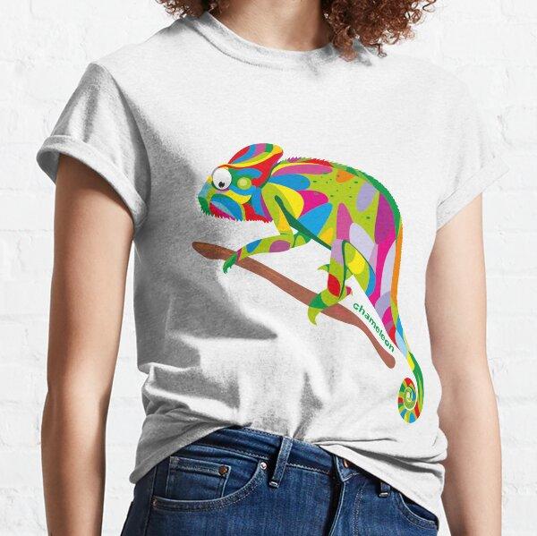 bright rainbow chameleon.  Classic T-Shirt