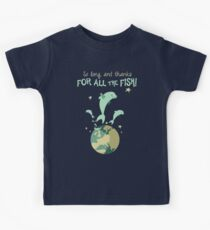 So Long, and Thanks for All the Fish Kids Tee