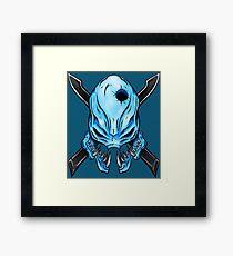Elite Skull - Halo Legendary Framed Print