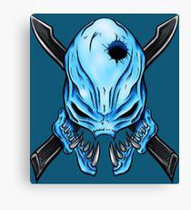 Elite Skull - Halo Legendary Canvas Print