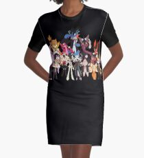 Super Pokeronpa 2 Graphic T-Shirt Dress