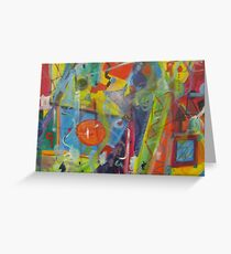 It Rained Greeting Card