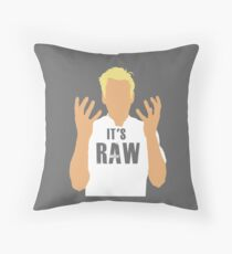 Gordon Ramsay -It's RAW! Throw Pillow