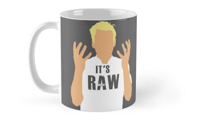 Gordon Ramsay -It's RAW! by kurticide