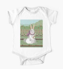 rabbit with a carrot Kids Clothes
