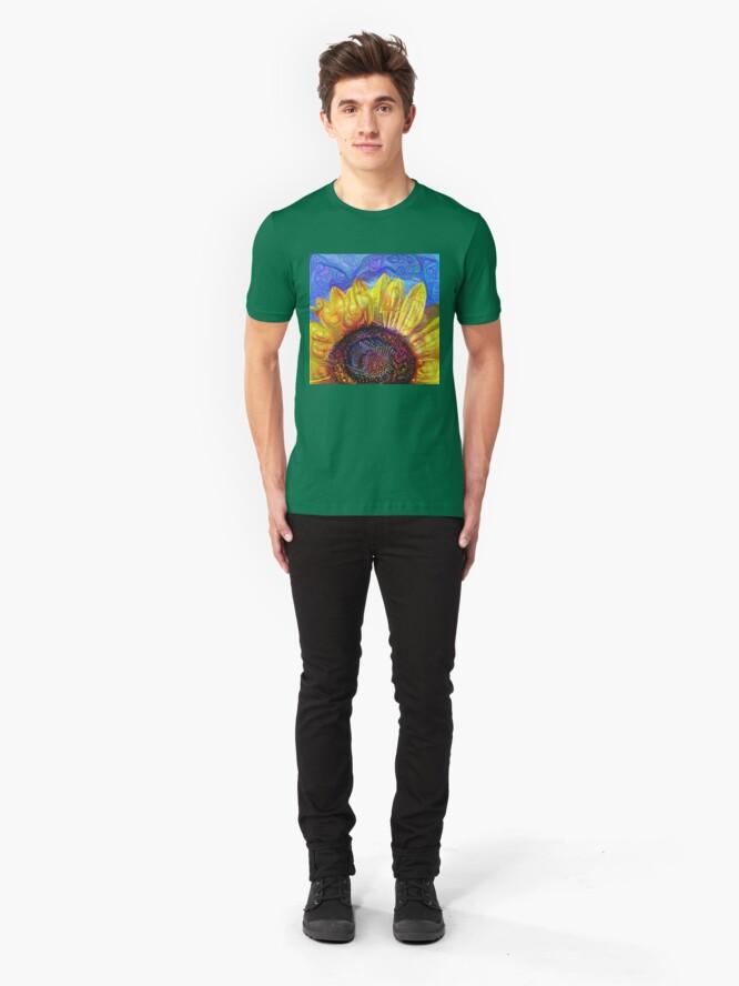 Alternate view of Solar eyelashes Slim Fit T-Shirt