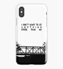 I Don't Want To Be - ONE TREE HILL iPhone Case/Skin