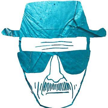 Heisenberg Face  by SlimReaper35