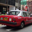 Hong Kong Urban Taxi by sailgirl