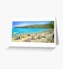 Noosa Beach  Greeting Card