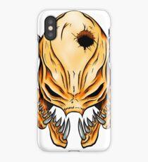 Elite Skull - Halo Legendary Orange iPhone Case/Skin